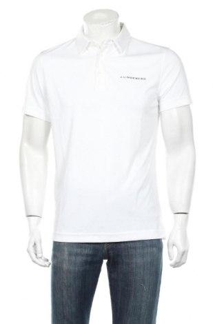 Мъжка тениска J.Lindeberg, Размер M, Цвят Бял, Полиестер, Цена 55,30лв.