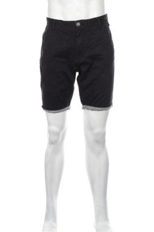 Ανδρικό κοντό παντελόνι Boohoo, Μέγεθος L, Χρώμα Μπλέ, Βαμβάκι, Τιμή 12,62€