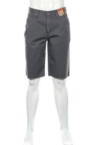 Мъжки къс панталон Vintage, Размер S, Цвят Сив, Памук, Цена 8,20лв.