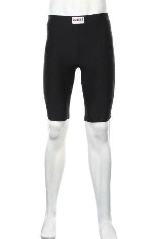 Męskie legginsy Guess, Rozmiar S, Kolor Czarny, 75% poliester, 25% elastyna, Cena 155,75zł