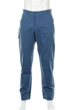 Мъжки панталон Atelier GARDEUR, Размер L, Цвят Син, Памук, Цена 36,40лв.
