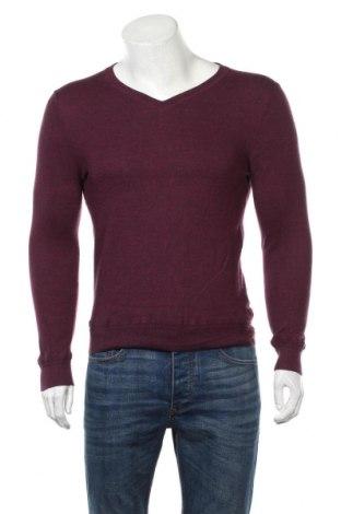Męski sweter Calibre, Rozmiar S, Kolor Fioletowy, Wełna, Cena 96,00zł