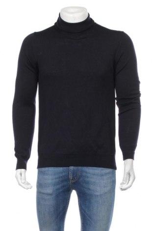 Мъжки пуловер J.Lindeberg, Размер M, Цвят Син, Мерино, Цена 122,32лв.