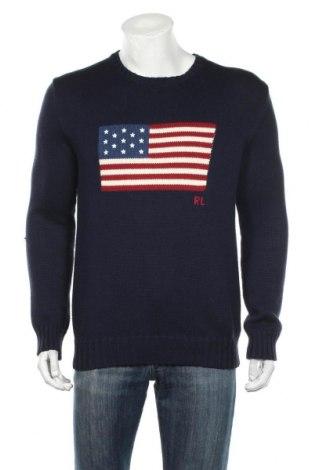 Ανδρικό πουλόβερ Polo By Ralph Lauren, Μέγεθος S, Χρώμα Μπλέ, 100% βαμβάκι, Τιμή 70,10€