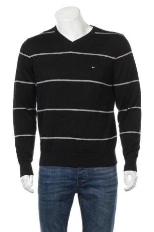 Pánsky sveter  Tommy Hilfiger, Veľkosť M, Farba Čierna, Bavlna, Cena  67,47€