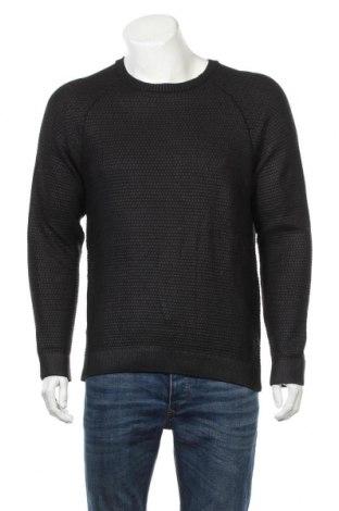 Męski sweter Zara Man, Rozmiar L, Kolor Szary, 51%akryl, 49% bawełna, Cena 93,00zł