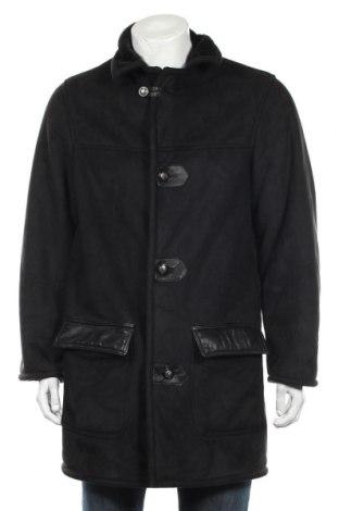 Мъжко палто Ac, Размер L, Цвят Черен, Полиестер, Цена 38,81лв.