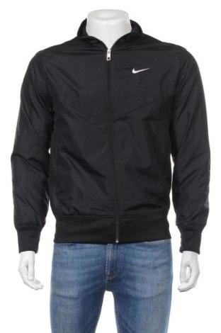 Ανδρικό αθλητικό μπουφάν Nike, Μέγεθος S, Χρώμα Μαύρο, Πολυεστέρας, Τιμή 32,93€