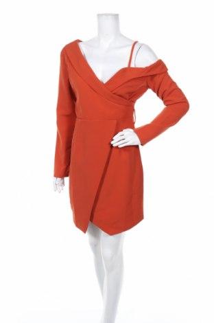 Рокля Alison, Размер M, Цвят Оранжев, Полиестер, Цена 37,20лв.