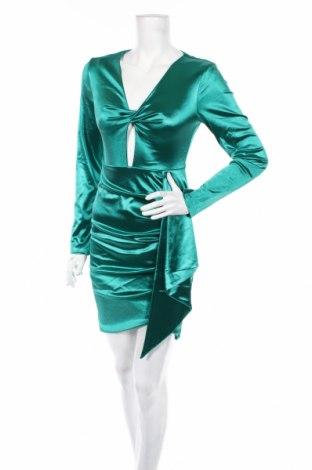 Рокля Allyson, Размер S, Цвят Зелен, 95% полиестер, 5% еластан, Цена 62,40лв.