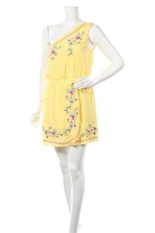 Φόρεμα Pepe Jeans, Μέγεθος M, Χρώμα Κίτρινο, Πολυεστέρας, Τιμή 37,53€