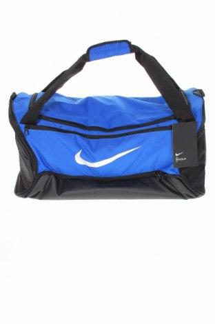 Torba sportowa Nike, Kolor Niebieski, Materiał tekstylny, Cena 198,75zł