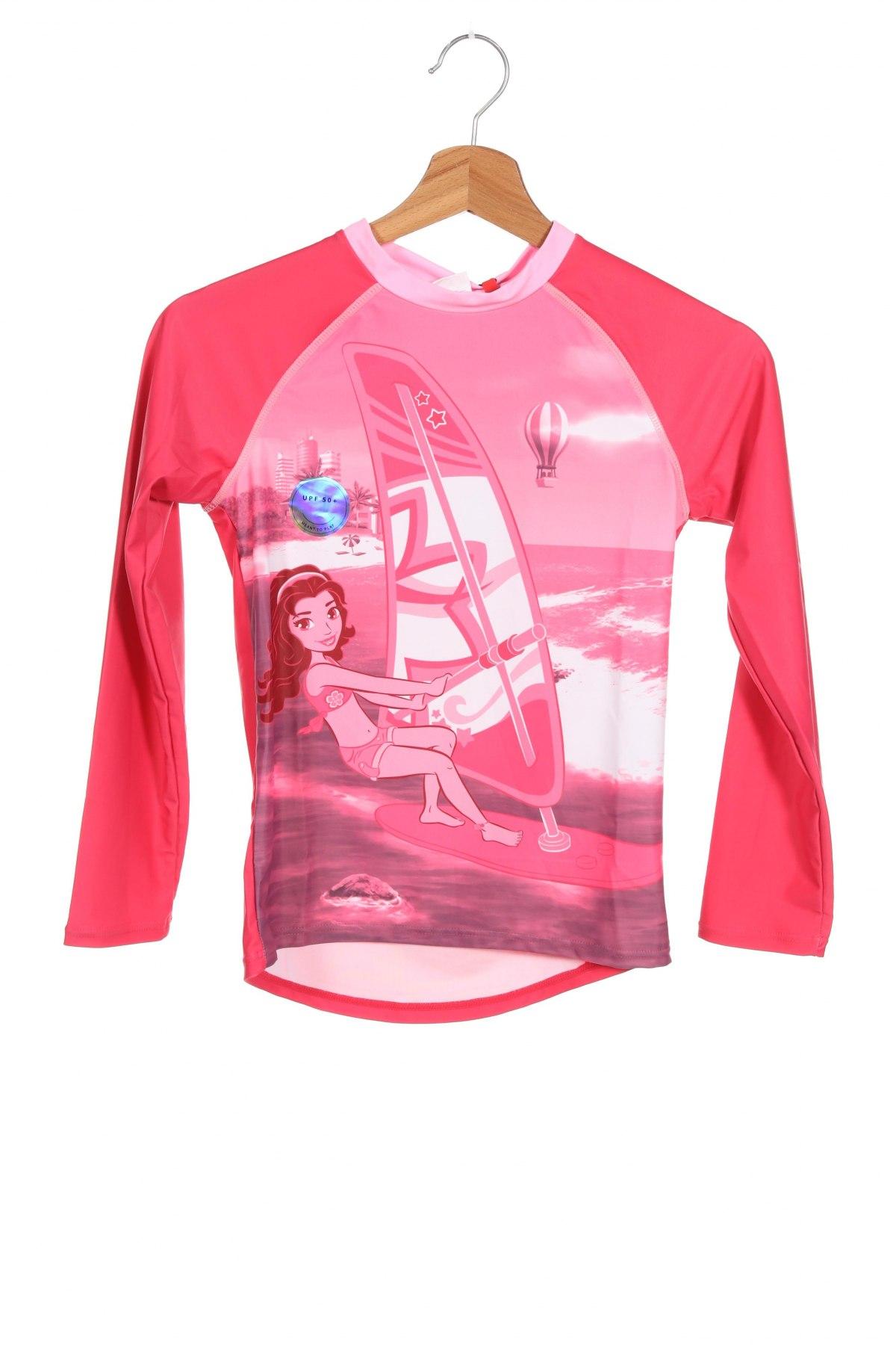 Детска блуза Lego, Размер 8-9y/ 134-140 см, Цвят Розов, 85% полиестер, 15% еластан, Цена 21,42лв.