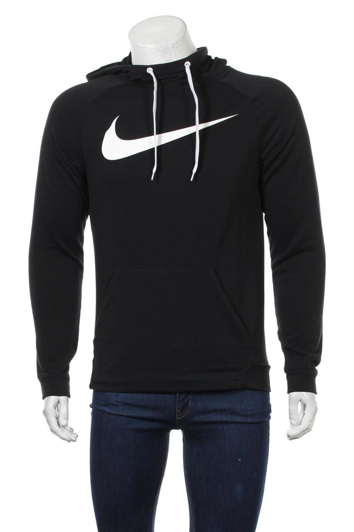 Мъжки суичър Nike, Размер S, Цвят Черен, Полиестер, Цена 74,25лв.