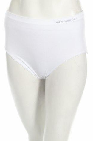 Бикини Don Algodon, Размер XL, Цвят Бял, 92% полиамид, 8% еластан, Цена 17,10лв.