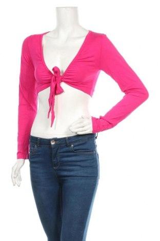 Болеро, Размер M, Цвят Розов, 95% други тъкани, 5% еластан, Цена 21,74лв.