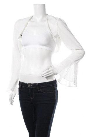 Болеро Young Couture By Barbara Schwarzer, Размер M, Цвят Бял, 100% полиестер, Цена 26,70лв.