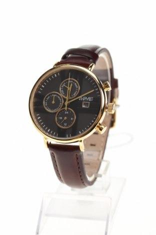 Ρολόι August Steiner, Χρώμα Καφέ, Γνήσιο δέρμα, μέταλλο, Τιμή 109,55€