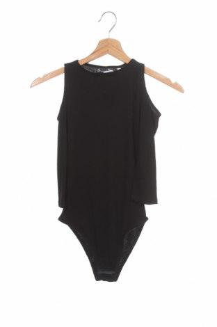 Bluză-body de damă. Women'secret, Mărime S, Culoare Negru, 49% poliester, 49% viscoză, 2% elastan, Preț 77,37 Lei