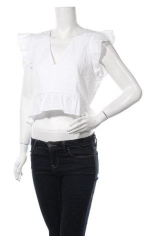 Γυναικεία μπλούζα About You, Μέγεθος M, Χρώμα Λευκό, Βαμβάκι, Τιμή 5,08€