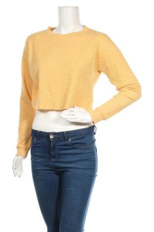 Дамска блуза Ally, Размер S, Цвят Жълт, 95% памук, 5% еластан, Цена 12,29лв.