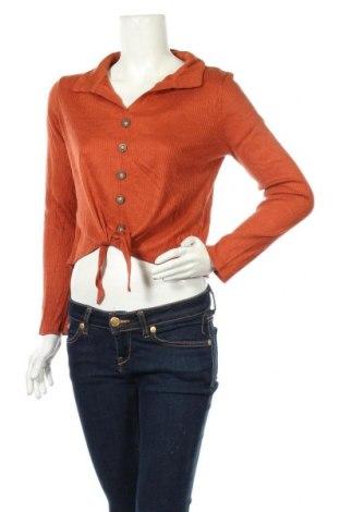 Дамска блуза Avocado, Размер M, Цвят Оранжев, Полиестер, Цена 15,12лв.