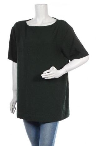 Дамска блуза COS, Размер XL, Цвят Зелен, 98% полиестер, 2% еластан, Цена 45,75лв.