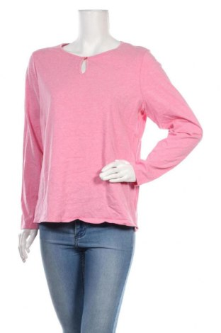 Дамска блуза Essentials by Tchibo, Размер M, Цвят Розов, 95% памук, 5% еластан, Цена 12,50лв.