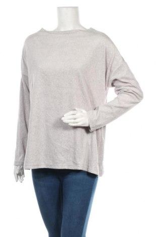 Дамска блуза Essentials by Tchibo, Размер M, Цвят Сив, Полиестер, Цена 11,76лв.