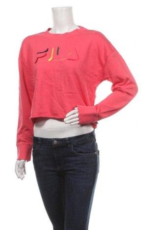 Дамска блуза Fila, Размер M, Цвят Розов, Памук, Цена 29,93лв.