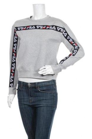 Дамска блуза Fila, Размер S, Цвят Сив, 72% полиестер, 24% памук, 4% еластан, Цена 19,85лв.