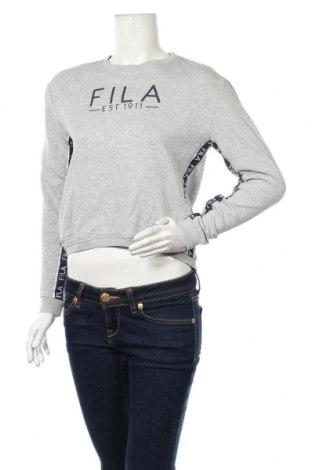 Дамска блуза Fila, Размер XS, Цвят Сив, 60% памук, 40% полиестер, Цена 21,95лв.