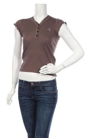 Bluză de femei Guess By Marciano, Mărime S, Culoare Bej, Bumbac, Preț 39,13 Lei