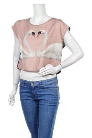 Γυναικεία μπλούζα H&M Divided, Μέγεθος S, Χρώμα Ρόζ , Πολυεστέρας, Τιμή 9,25€