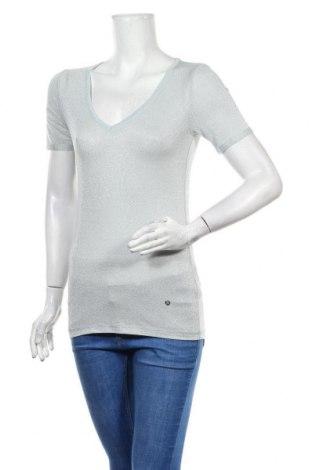Γυναικεία μπλούζα MOS MOSH, Μέγεθος XS, Χρώμα Μπλέ, 66% βισκόζη, 17% μεταλλικά νήματα, 12% πολυαμίδη, 5% ελαστάνη, Τιμή 15,28€