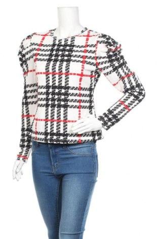 Дамска блуза SHEIN, Размер L, Цвят Многоцветен, 95% полиестер, 5% еластан, Цена 18,95лв.