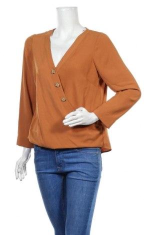 Γυναικεία μπλούζα Wallis, Μέγεθος L, Χρώμα Καφέ, Πολυεστέρας, Τιμή 9,82€