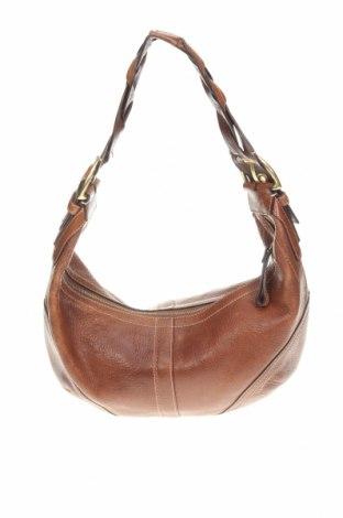 Γυναικεία τσάντα Coach, Χρώμα Καφέ, Γνήσιο δέρμα, Τιμή 80,91€