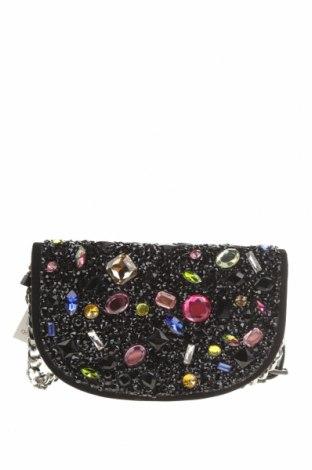 Geantă de femei Zara, Culoare Negru, Textil, Preț 162,83 Lei