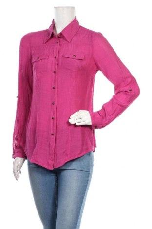 Дамска риза Estelle, Размер M, Цвят Лилав, 65% вискоза, 35% вискоза, Цена 18,95лв.