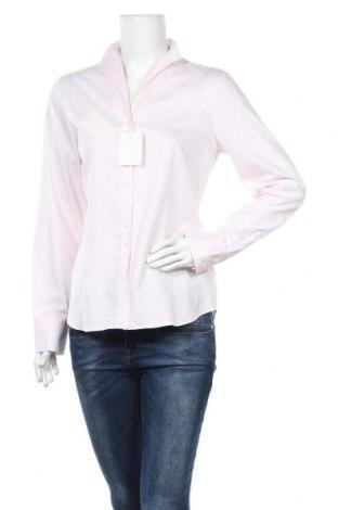 Дамска риза Eterna, Размер M, Цвят Розов, Памук, Цена 51,75лв.