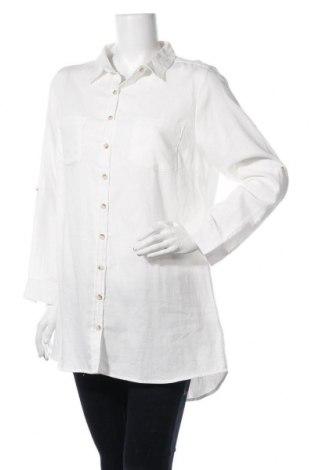 Дамска риза Haily`s, Размер XL, Цвят Бял, Памук, Цена 29,25лв.