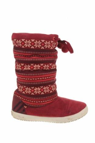 Cizme de damă Adidas Neo, Mărime 40, Culoare Roșu, Textil, Preț 233,55 Lei