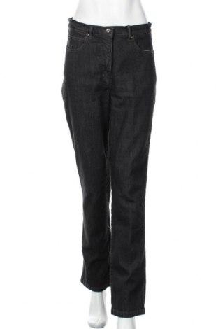 Дамски дънки, Размер L, Цвят Сив, 78% памук, 20% полиестер, 2% еластан, Цена 12,13лв.