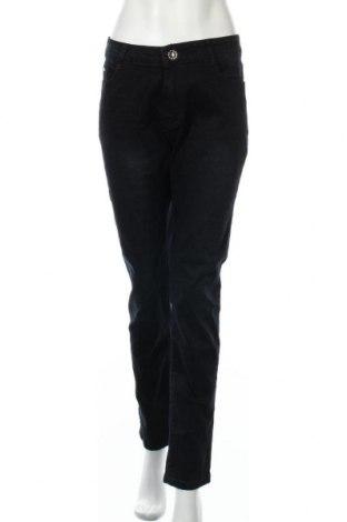 Дамски дънки, Размер XXL, Цвят Син, 95% памук, 5% еластан, Цена 37,91лв.