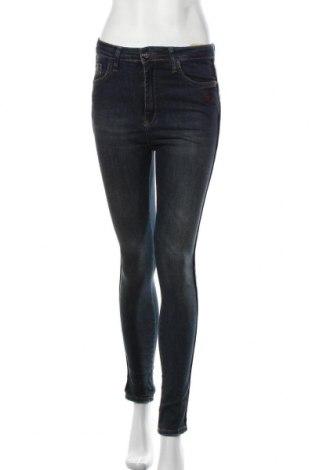 Дамски дънки, Размер S, Цвят Син, 98% памук, 2% еластан, Цена 25,52лв.