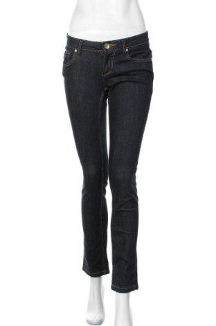 Дамски дънки 72D, Размер S, Цвят Син, 99% памук, 1% еластан, Цена 24,41лв.