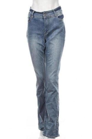 Дамски дънки Arizona, Размер L, Цвят Син, 99% памук, 1% еластан, Цена 30,72лв.