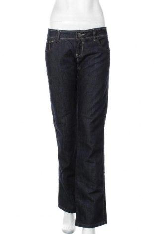 Дамски дънки Bianco Jeans, Размер XL, Цвят Син, 88% памук, 10% полиестер, 2% еластан, Цена 15,12лв.