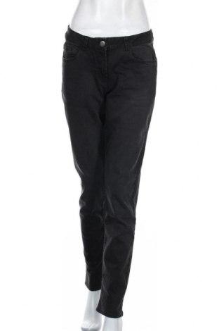 Дамски дънки Blue Motion, Размер M, Цвят Черен, 80% памук, 19% полиестер, 1% еластан, Цена 24,10лв.
